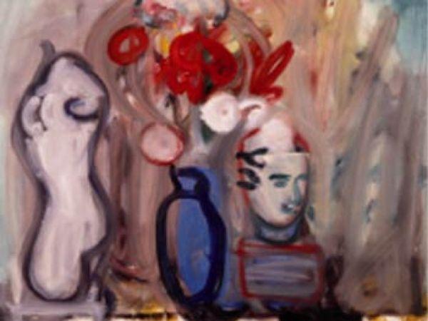 РОБЕРТ ДЕ НИРО-СТАРШИЙ Цветы в синей вазе