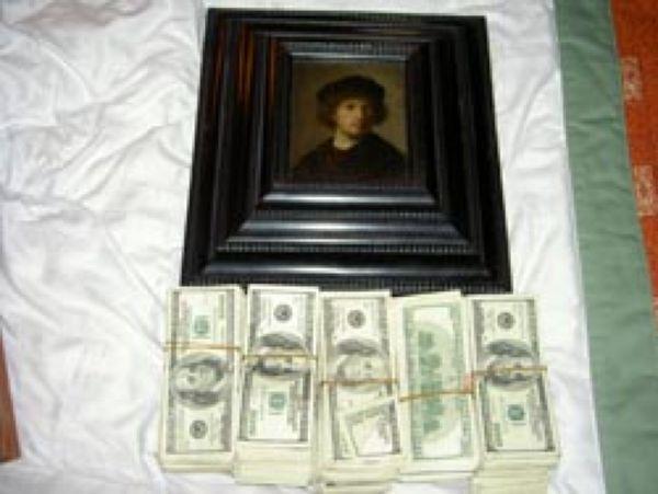Автопортрет Рембрандта, найденный в Копенгагене