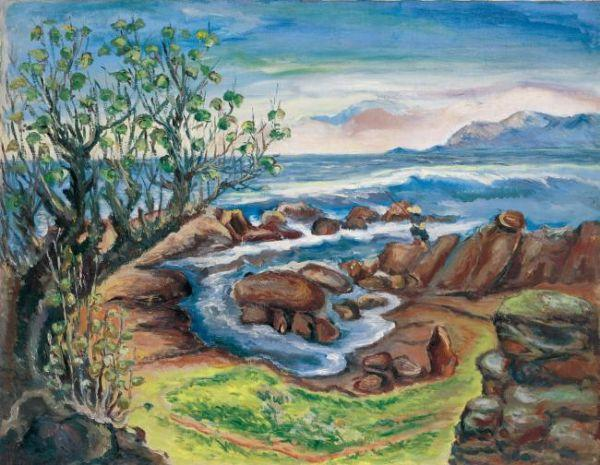 ЧЭНЬ ЧЭНБО Шум волн (Maobitou Cape). 1939