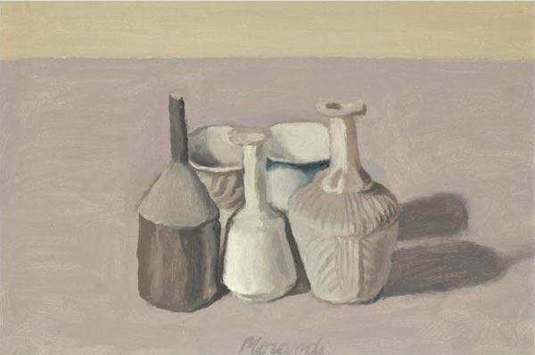 DZhORDZhO MORANDO Natyurmort. 1956