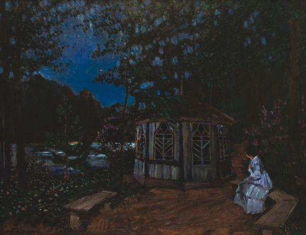 СЕРГЕЙ ВИНОГРАДОВ Ночь. 1900-е