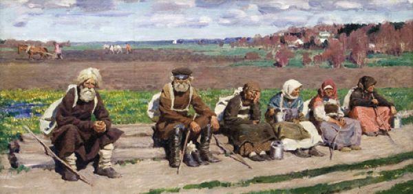СЕРГЕЙ ВИНОГРАДОВ К преподобному. 1910-е