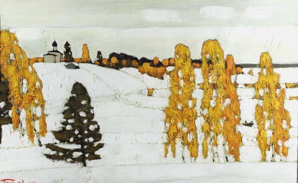 КИМ БРИТОВ Ранняя зима. 1995