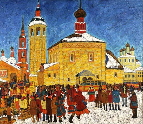 КИМ БРИТОВ Праздник в Суздале. 1980