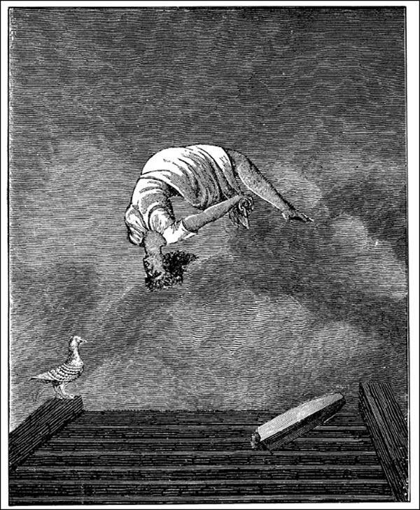 МАКС ЭРНСТ Из цикла коллажей «Неделя доброты». 1933