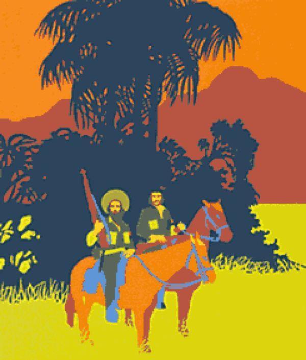 РЕНЕ МЕДЕРОС Кубинские революционеры Че Гевара и Камило Сьенфуэгос