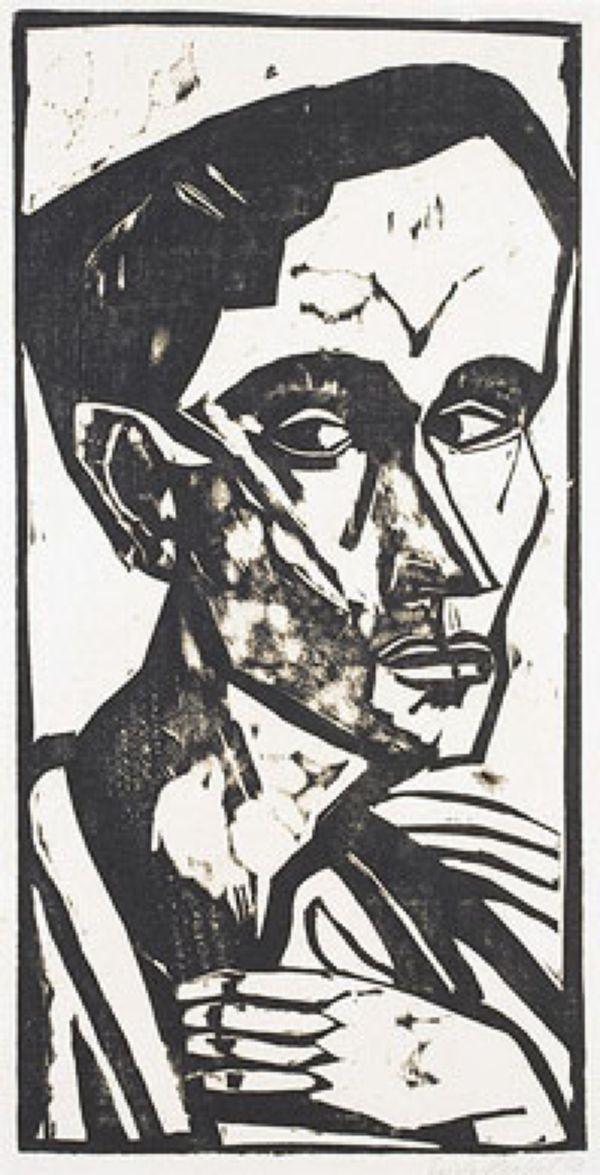 ЭРИХ ХЕККЕЛЬ Человек. 1913