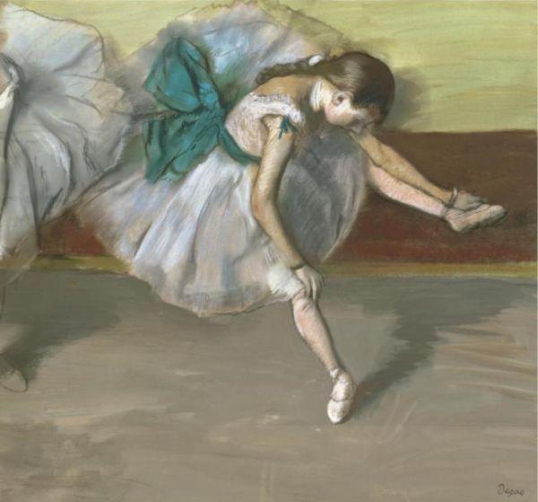 ЭДГАР ДЕГА Отдыхающая танцовщица. Ок. 1879