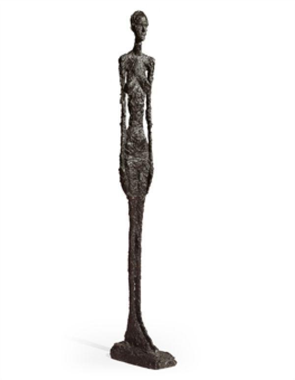 АЛЬБЕРТО ДЖАКОМЕТТИ Большая стоящая женщина II. 1959–1960
