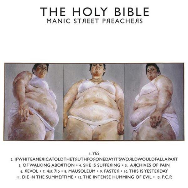 ДЖЕННИ СЭВИЛЛ Обложка альбома The Holy Bible группы Manic Street Preachers