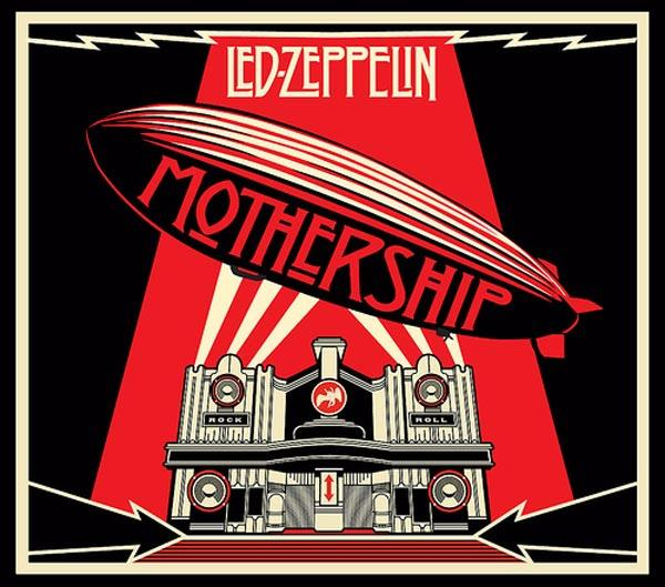 ШЕПАРД ФЕЙРИ Обложка альбома Mothership. Greatest Hits группы Led Zeppelin