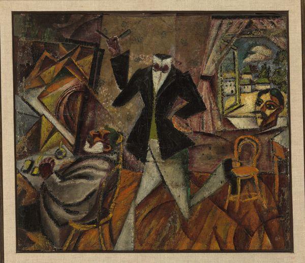 ДАВИД БУРЛЮК Парикмахер без головы. Ок. 1912