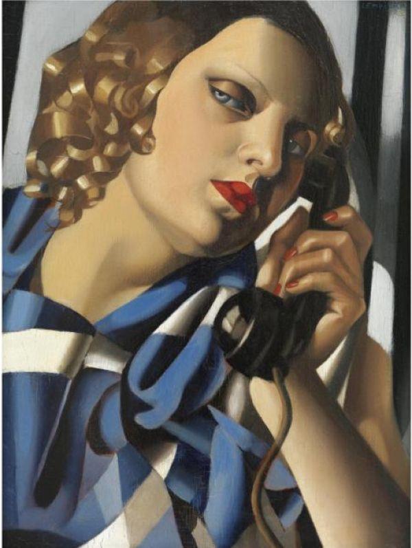 ТАМАРА ДЕ ЛЕМПИЦКА Телефон II. 1930