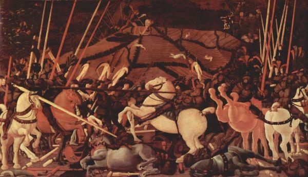 ПАОЛО УЧЧЕЛЛО Битва при Сан-Романо. Центральная часть. 1438