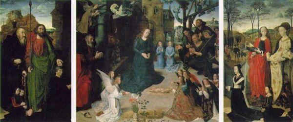 ХУГО ВАН ДЕР ГУС Алтарь Портинари. 1476–1479