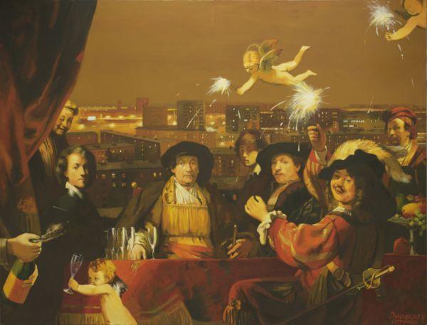 ДУБОССАРСКИЙ И ВИНОГРАДОВ Happy Birthday, Mynheer Rembrandt. 2009
