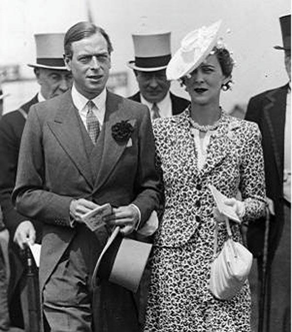 Его Королевское Высочество принц Георг, герцог Кентский, и его супруга, принцесса Марина