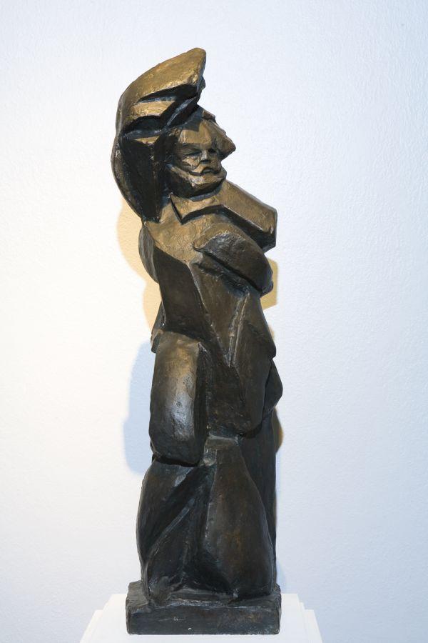 БОРИС КОРОЛЁВ Михаил Александрович Бакунин. 1918. Этюд к проекту памятника для Москвы