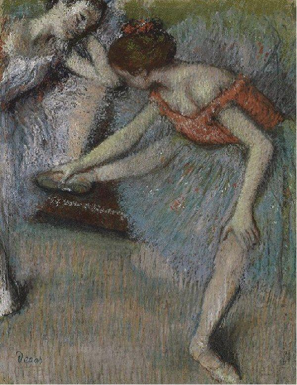 ЭДГАР ДЕГА Танцовщицы. Ок. 1896