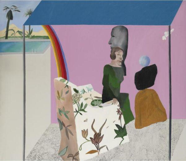 ДЭВИД ХОКНИ Собирательница произведений искусства из Калифорнии. 1964