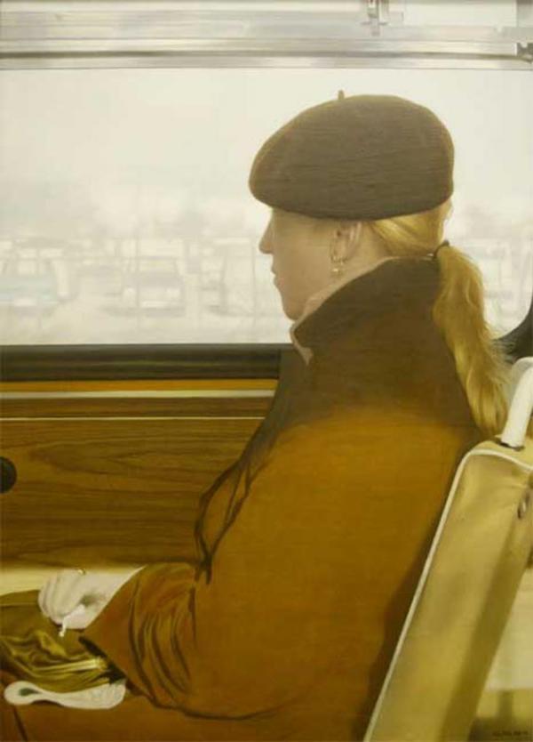 СЕМЕН ФАЙБИСОВИЧ Пассажирка. Из цикла «Рейсовый автобус»