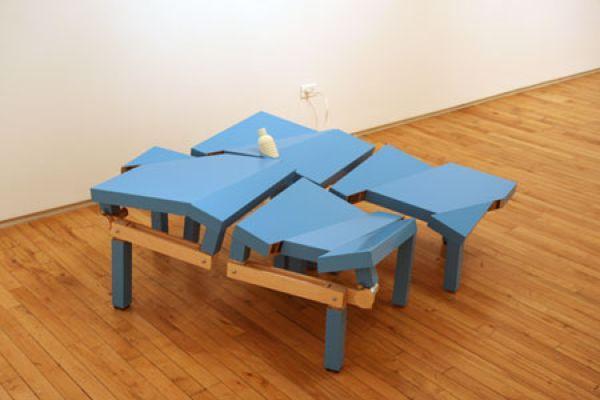 ДЖЕФФ КАРТЕР Каталог (Голубые столы). 2007
