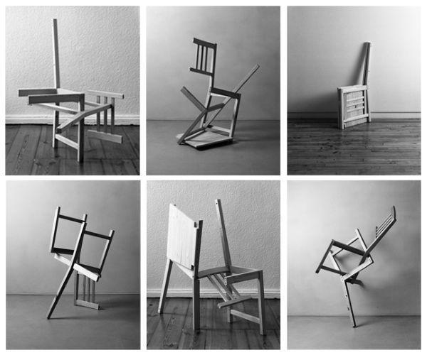НАТАН БЕЙКЕР Без названия (Скульптуры из стула). 2008–2009
