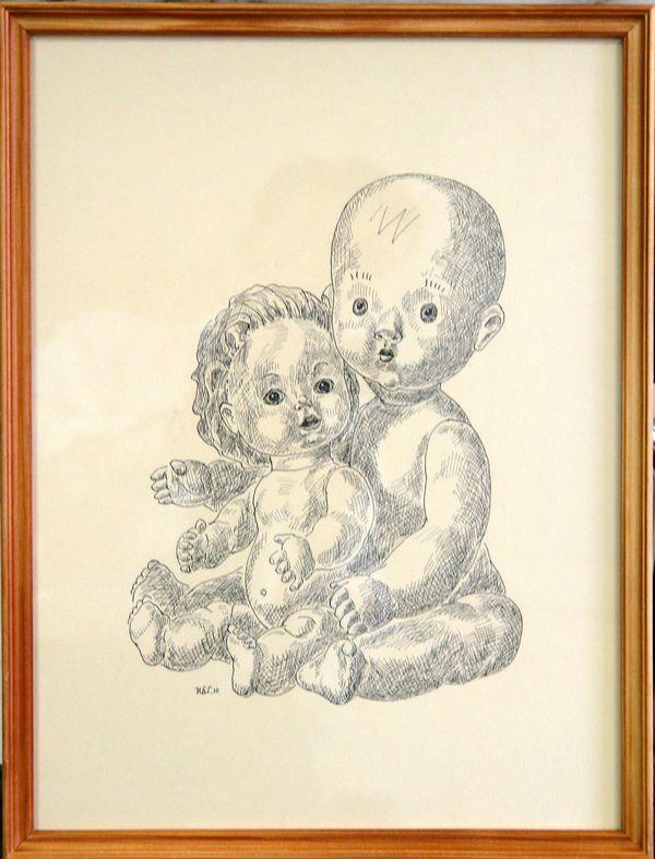 БЫКОВА ИРИНА АНАТОЛЬЕВНА (род. 1966) Куклы. 2010