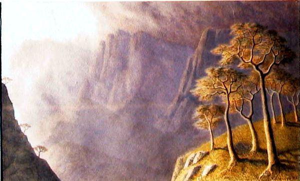 КАЛЕНЧУК ОЛЕГ ПЕТРОВИЧ (род. 1954) «Стихия (Киммерийская тема)». 1991
