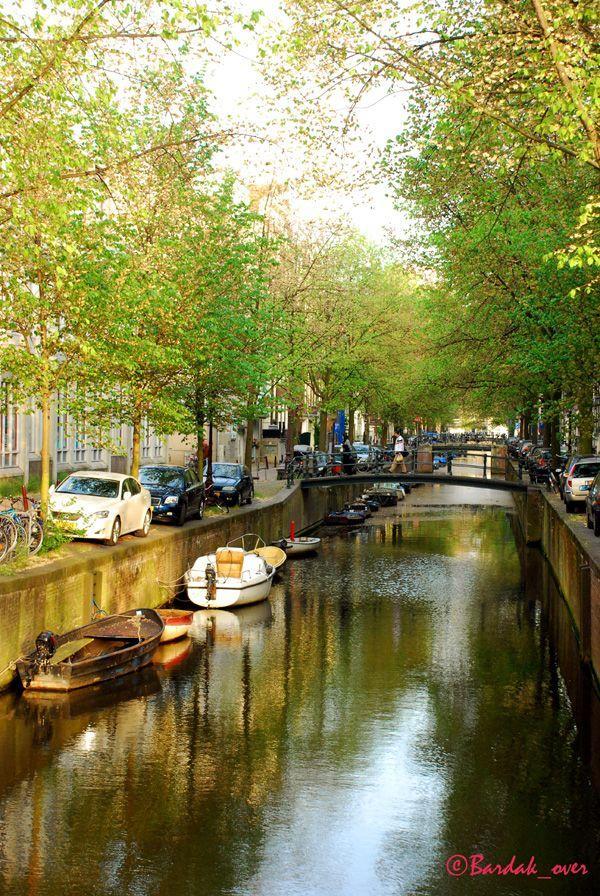 БАРДАКОВА МАРИНА Каналы Амстердама. Фотография. 2009
