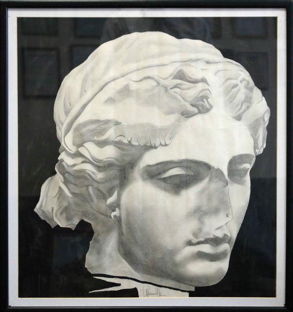 ШАХРАМАНЯН САМВЕЛ ГЕОРГИЕВИЧ (род. 1975) Голова богини. 1992