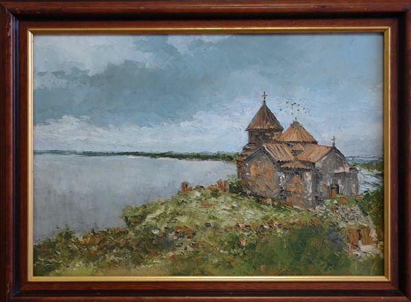 ШАХРАМАНЯН ВАГАН ГЕОРГИЕВИЧ (род. 1968) Храм. Севан. 2006