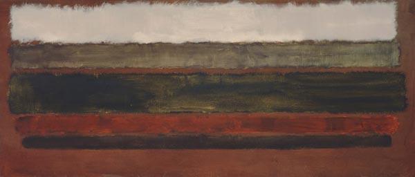 МАРК РОТКО № 30. 1962. Холст, масло. 114,3 x 267,3