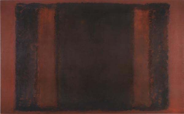 МАРК РОТКО Эскиз для «Панно № 7» (Эскиз декоративного панно для Сигрэм-билдинг). 1958–1959. Холст, масло. 267 x 427,4