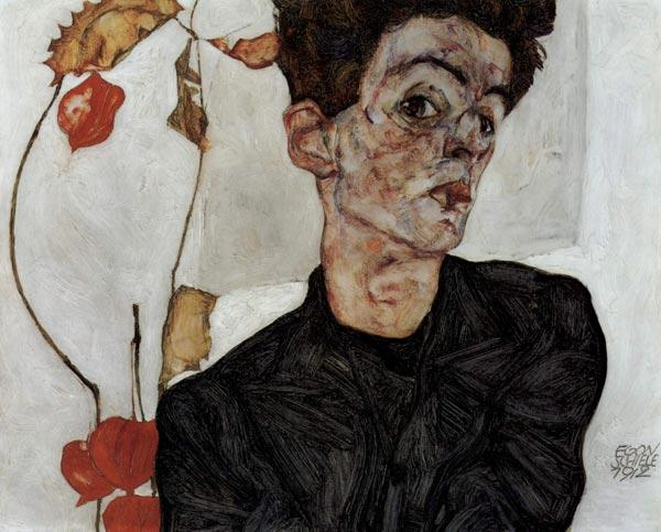 ЭГОН ШИЛЕ Автопортрет. 1912