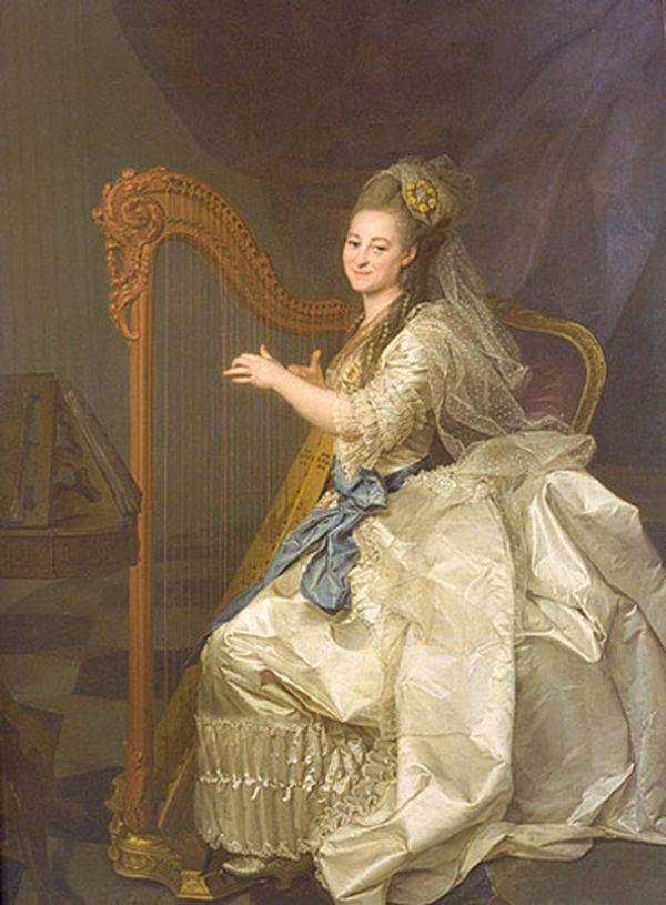 ДМИТРИЙ ЛЕВИЦКИЙ Портрет Г. И. Алымовой. 1776