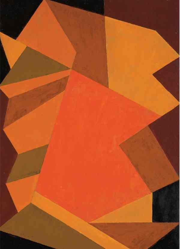 ВЛАДИМИР АНДРЕЕНКОВ Трансформация. № 41. Воспоминание о Рембрандте. 3-й вариант. 1965