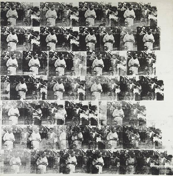 ЭНДИ УОРХОЛ Мужчины в ее жизни. 1962