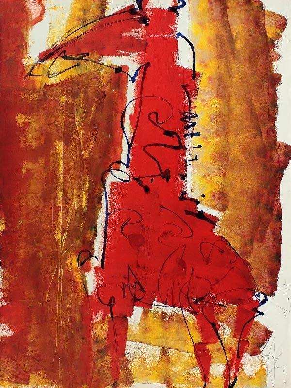 СЕРГЕЙ АЛФЁРОВ Из серии «Жирафы». 2002