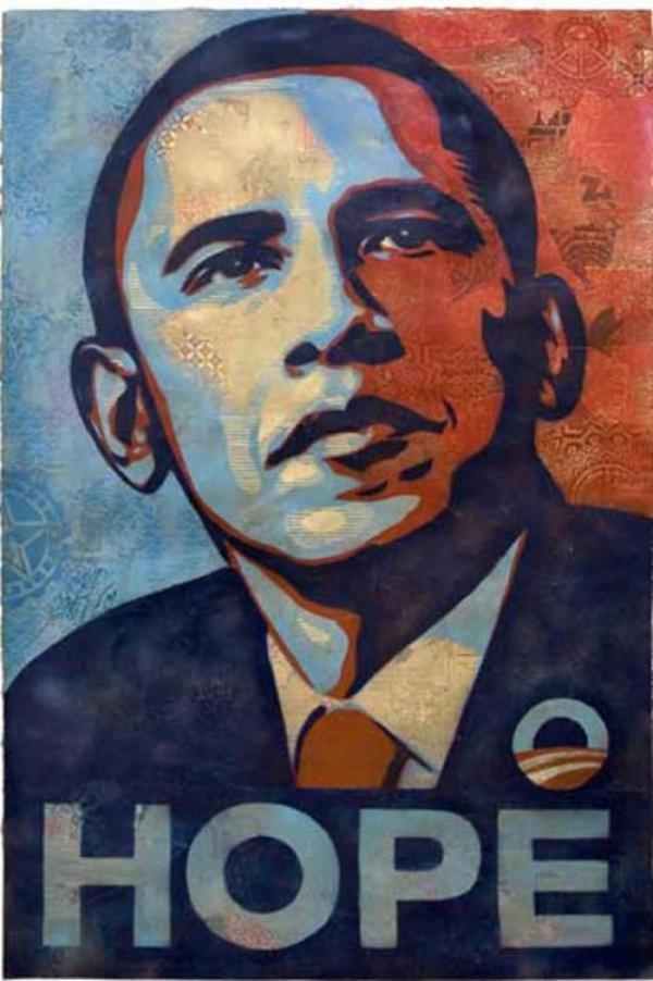 ШЕПАРД ФЕЙРИ Obama Hope