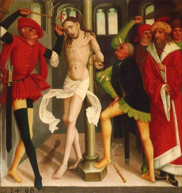 Швабский мастер. Бичевание Христа. 1496