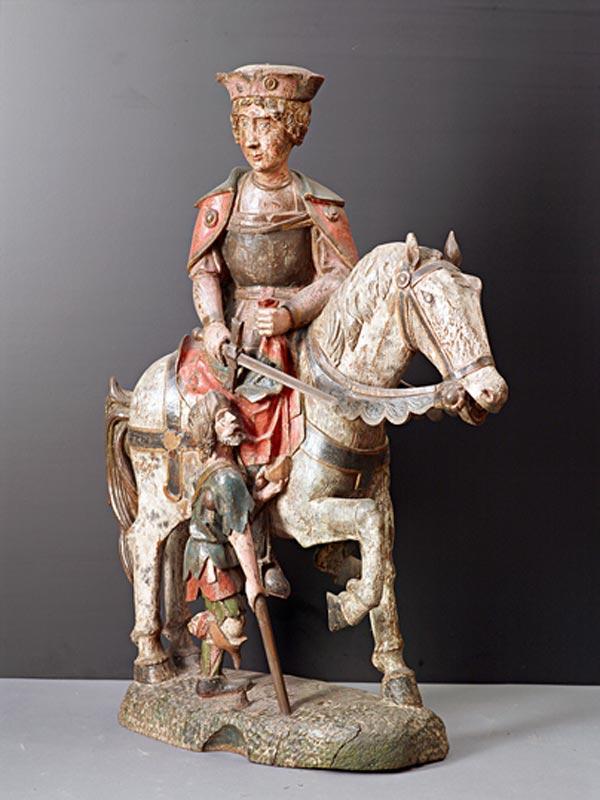 Святой Мартин верхом на коне