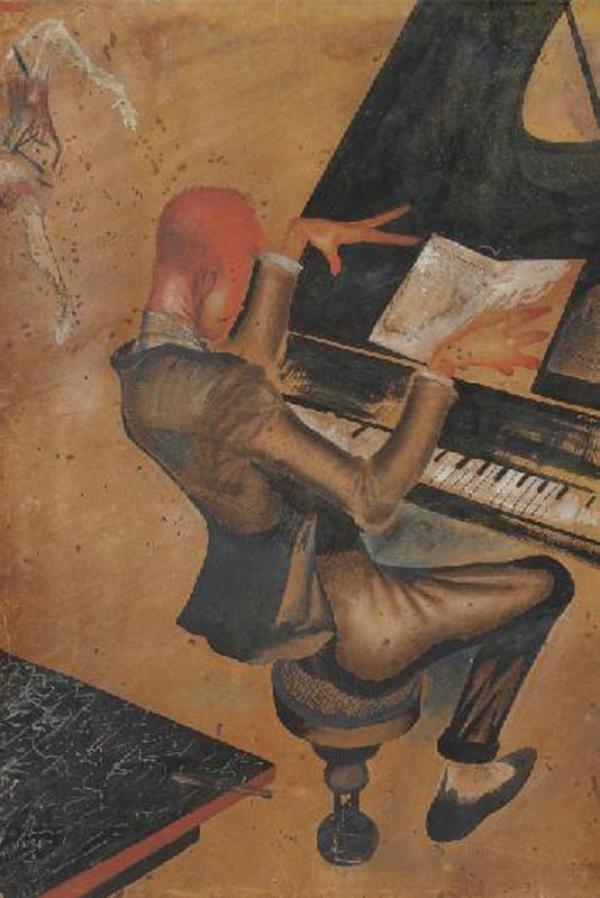 ЮРИЙ ПИМЕНОВ Пианист. 1926