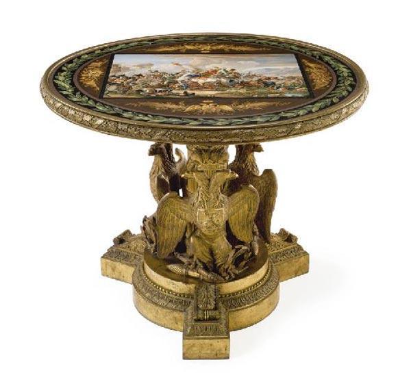 Мозаичный столик. 1830–1833