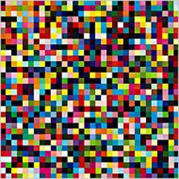 ГЕРХАРД РИХТЕР 1024 цвета. 1974