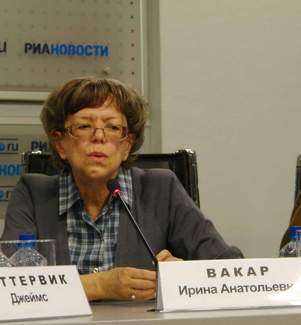 Ирина Вакар, старший научный сотрудник Отдела живописи первой половины ХХ  века ГТГ