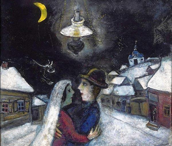 МАРК ШАГАЛ Ночью. 1943