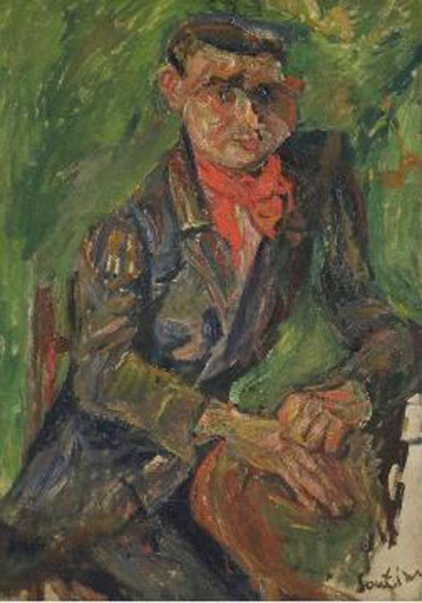 ХАИМ СУТИН Портрет Моисея Кислинга. Около 1930