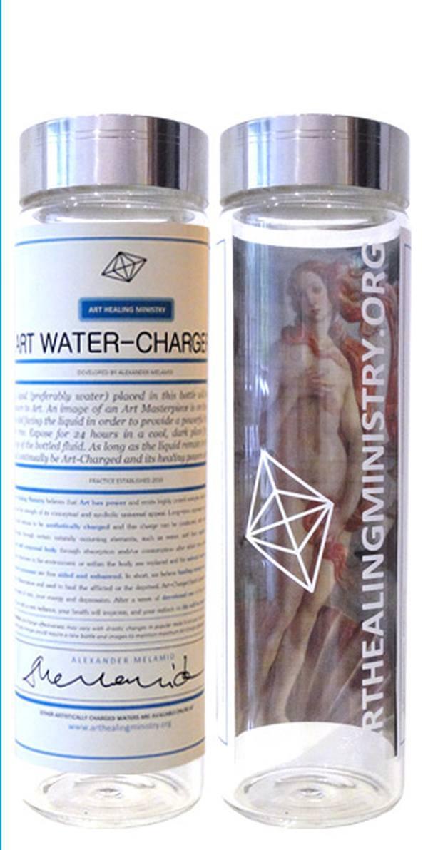 Сосуд для «зарядки» воды искусством Боттичелли