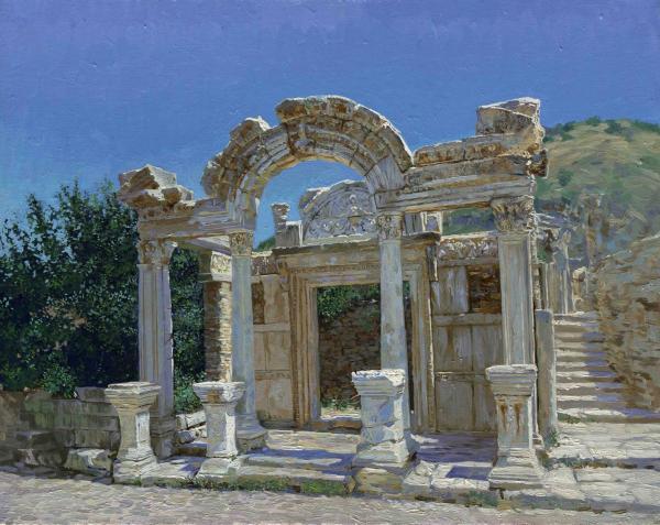 Эфес. Храм Адриана. Руины. 2005